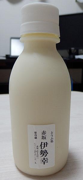 豆乳[小](117円)