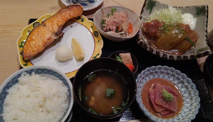 和定食(1,700円)