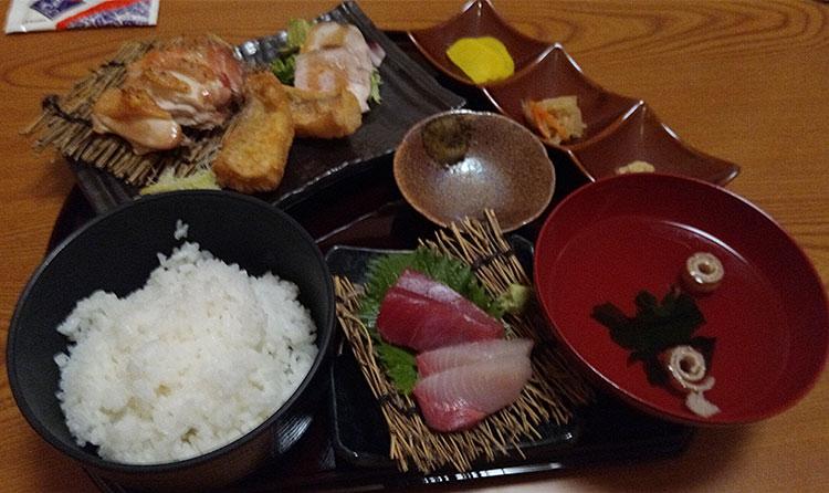 やまぐら山海御膳(1,000円)