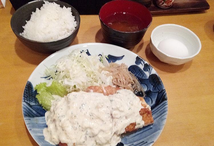 チキン南蛮定食(980円)