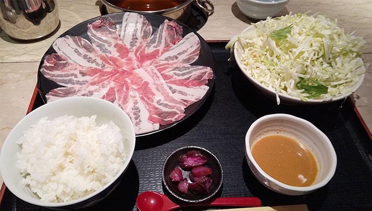 もち豚しゃぶしゃぶ(1,000円)