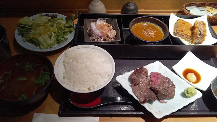 上遅得定食(1,500円)