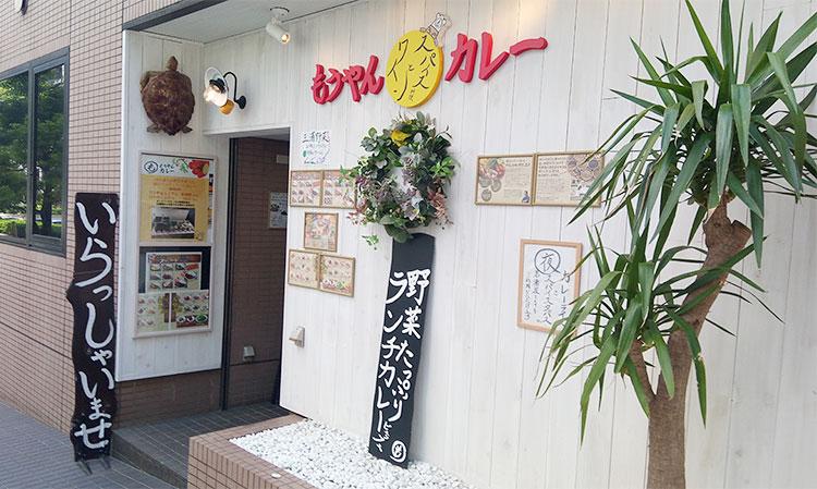 「もうやんカレー 赤坂店」で「ランチビュッフェ(1,080円)」