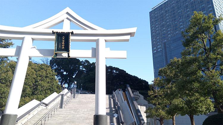 「日枝神社」の「鳥居」