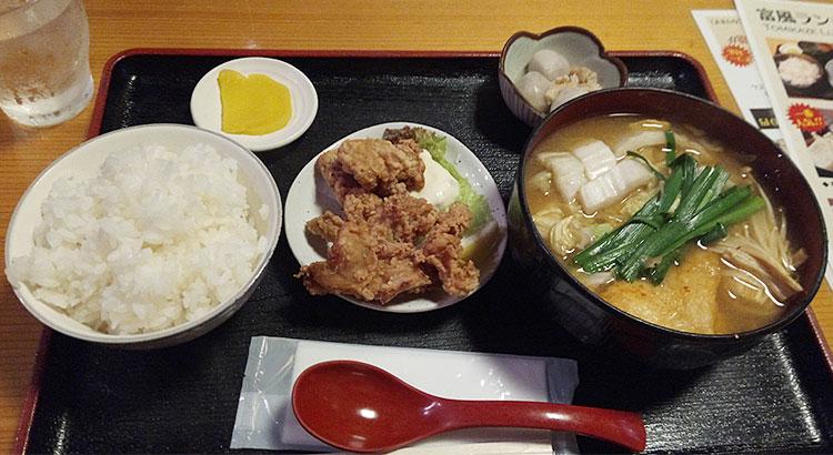 ちゃんから定食(750円)