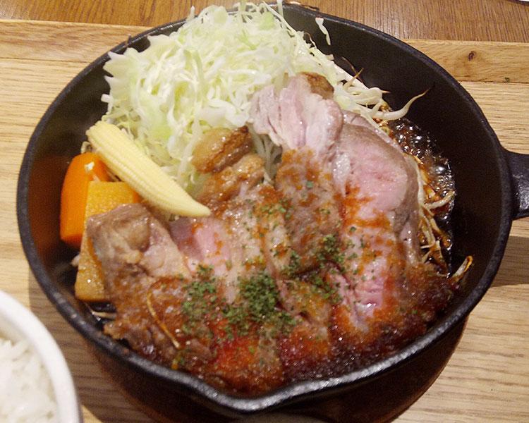 トンテキジンジャーソース(980円)