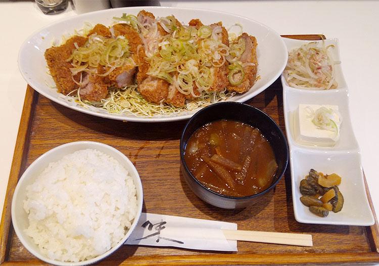 和風とんかつランチ(1,200円)