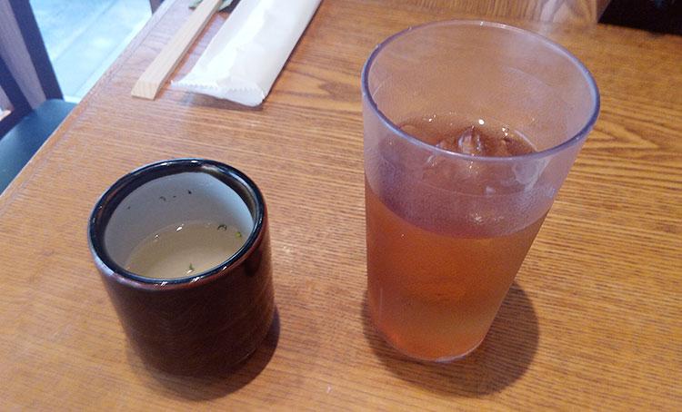 スープ・お茶