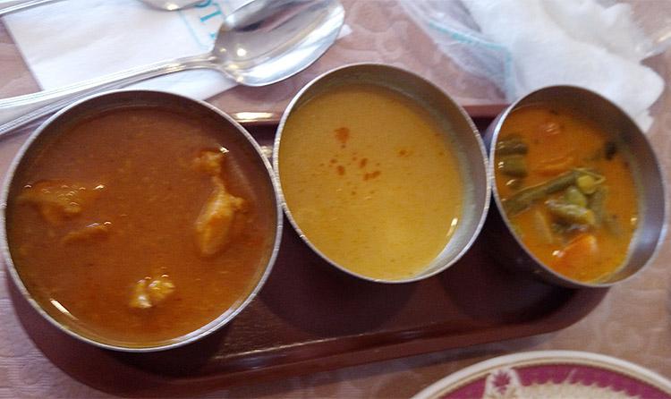 インドカレー3種類
