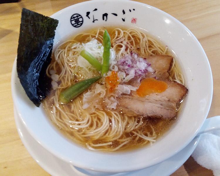 純粋豚そば 醤油(850円)
