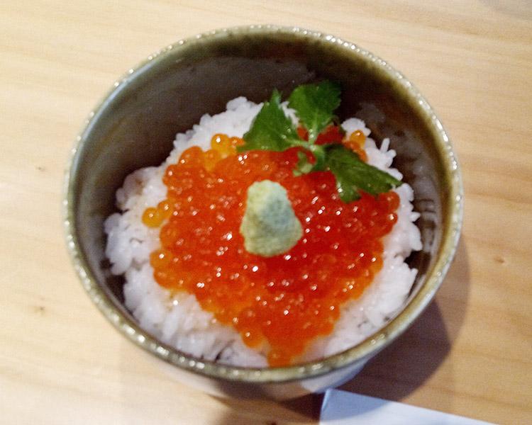 いくらご飯(550円)
