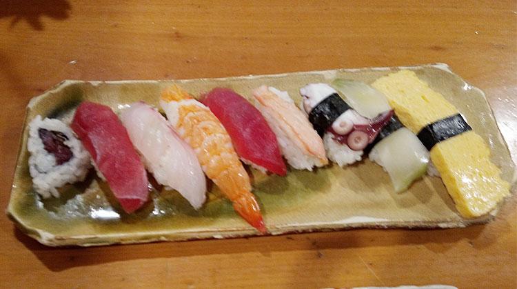 第二弾の寿司