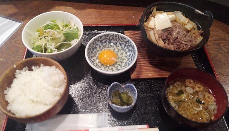 すき焼き御膳(1,000円)