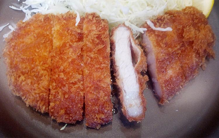 ロースかつ定食[松](890円)