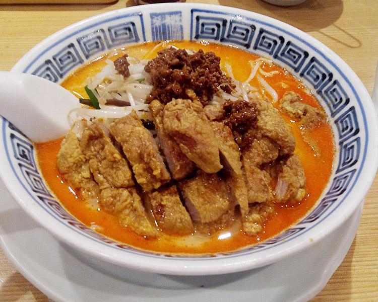 排骨担々麺[ぱいこーたんたんめん](1,240円)