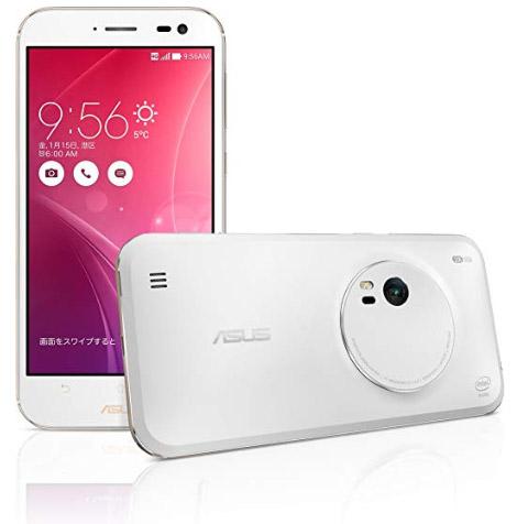 エイスース「ZenFone Zoom」ZX551ML-WH32S4PL