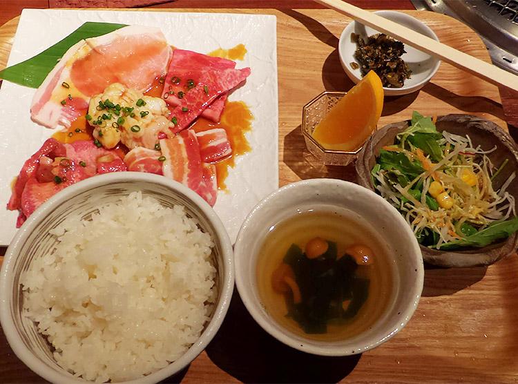 焼肉ビジネスランチ(1,000円)