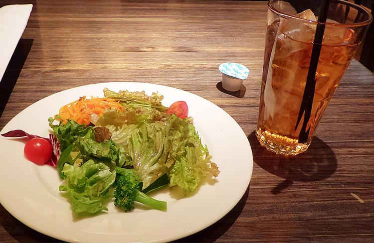野菜サラダ・ドリンク
