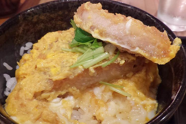 ミニカツ丼セット(780円)