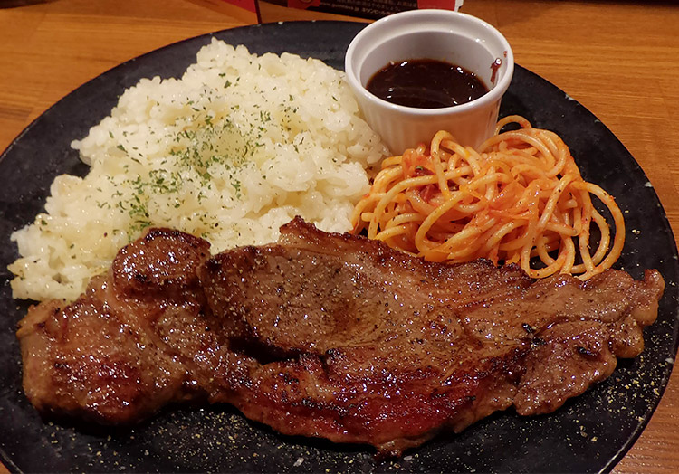 牛サーロインステーキ(1,000円)