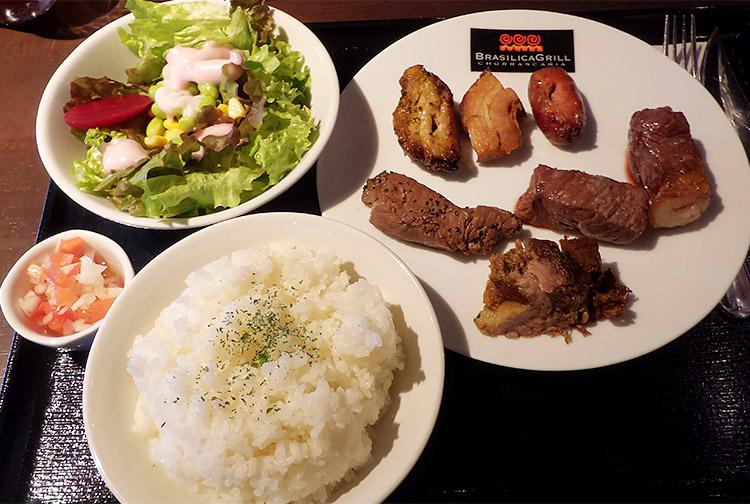 ブラジリカシュラスコプレート[7種類の肉](1,620円)