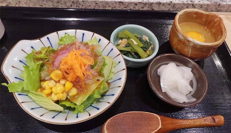 肉じる定食[肉すい](1,000円)