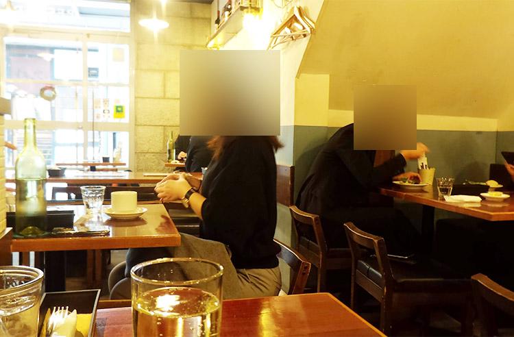 「オイスター&ワイン ペスカデリア 赤坂店 (PESCADERIA)」で「ラザニア ボロネーゼ(1,200円)」と「生牡蠣(300円)」のランチ