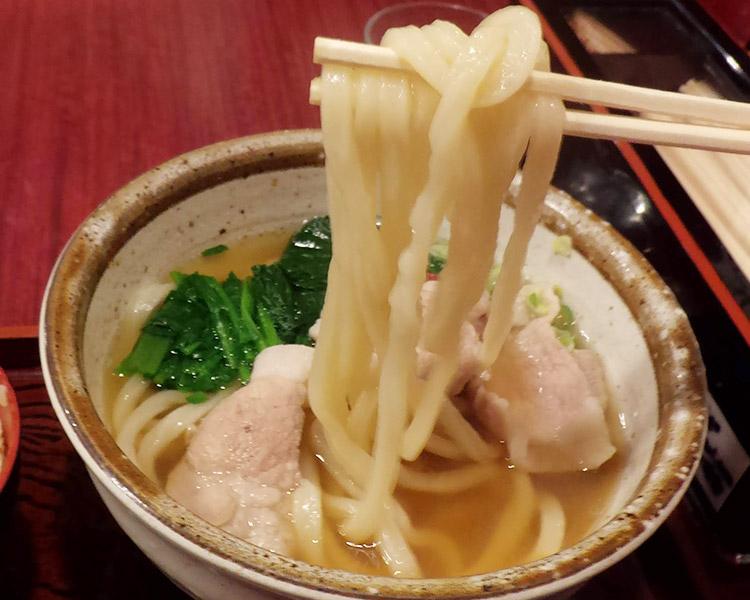 梅豚うどんセット(940円)