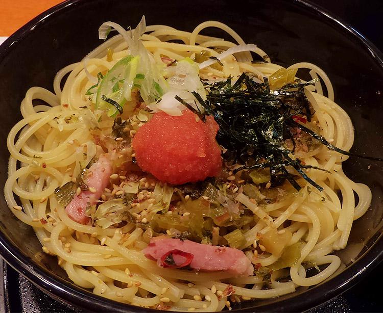 明太子と高菜の博多風