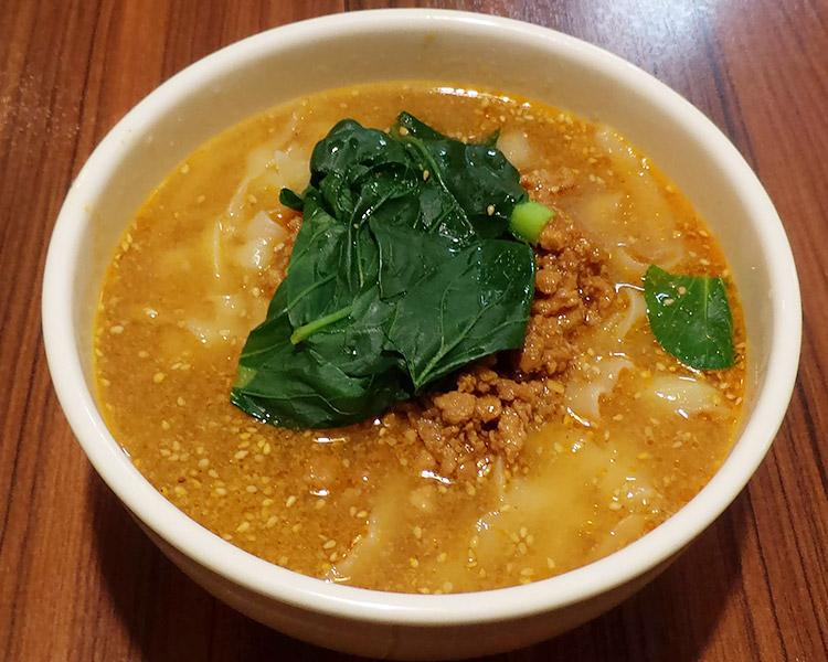 坦々刀削麺(850円)