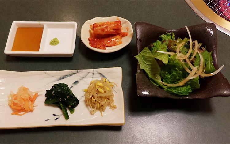 牛傳 焼肉ランチ(1,320円)