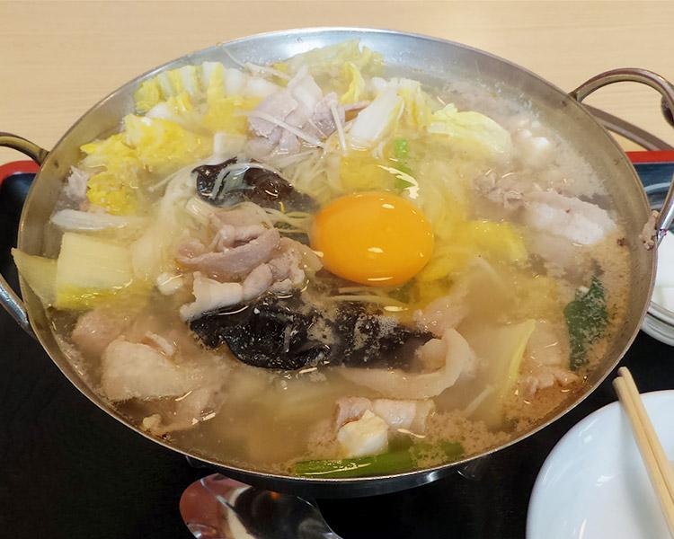豚肉火鍋(900円)