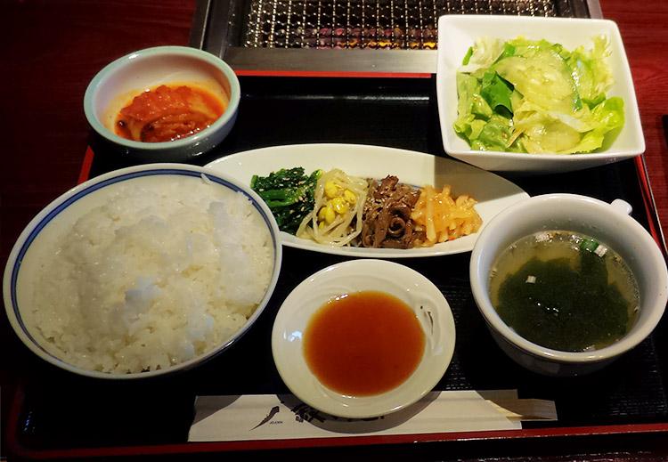 牛切落しランチ(2,000円)