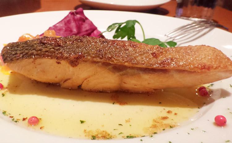秋鮭のバター焼き(1,000円)
