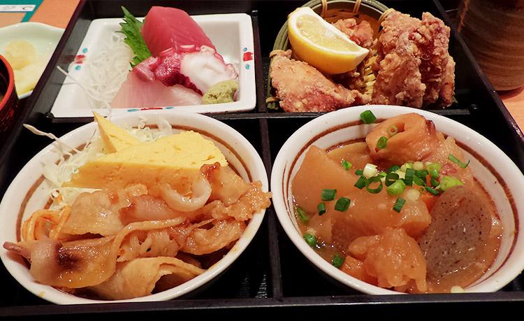 松花堂弁当(950円)