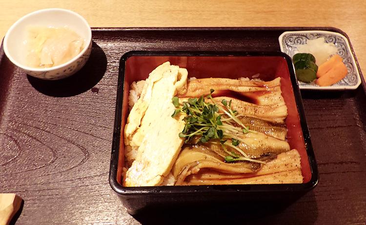 煮穴子重セット(1,500円)