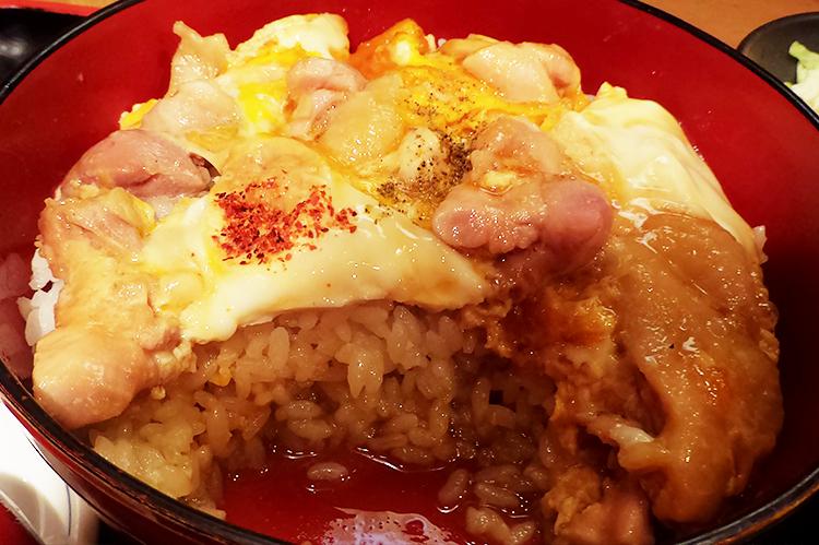 親子丼(1,080円)