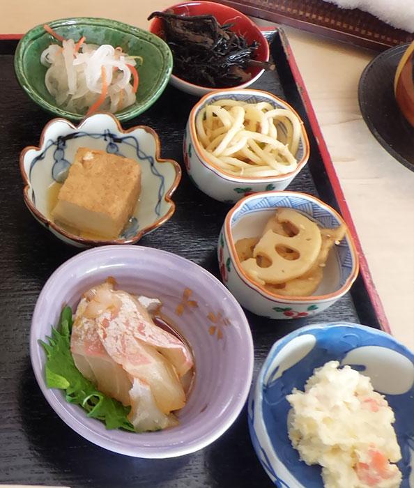 メロウ煮付定食(1,500円)