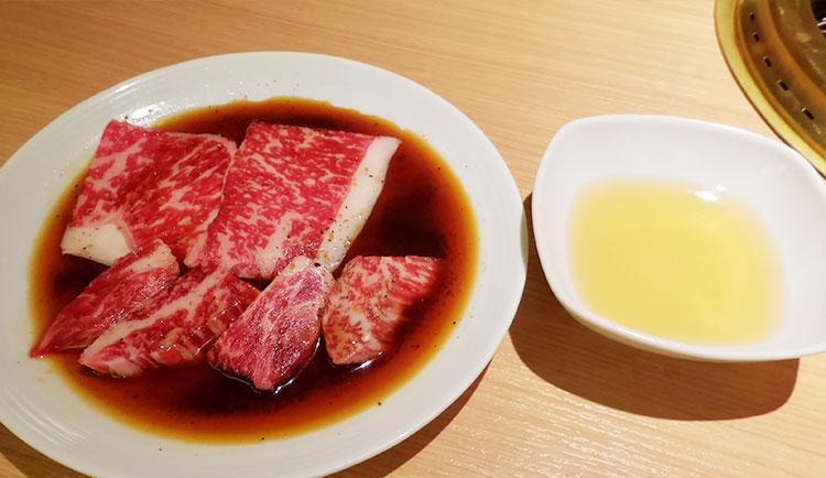 ロースカルビ焼肉ランチ(1,500円)