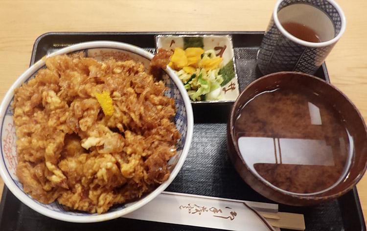 かき揚げ丼(1,400円)