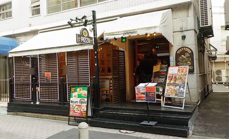 「トラットリア マルーモ 赤坂本店(Maruumo)」で「カチョエペペ パスタ(1,100円)」のランチ