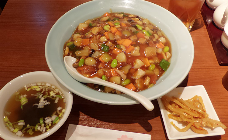 あんかけ炒飯(950円)