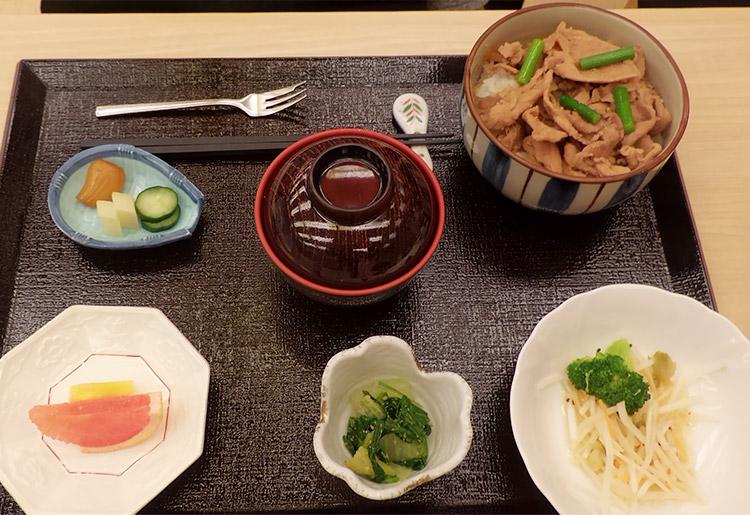 生姜焼丼(500円)