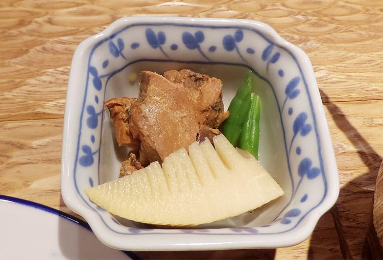 本日のわら焼き盛合せ定食(1,200円)
