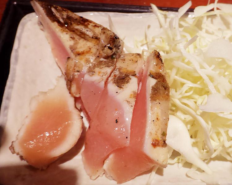 大山鶏の刺身ステーキ
