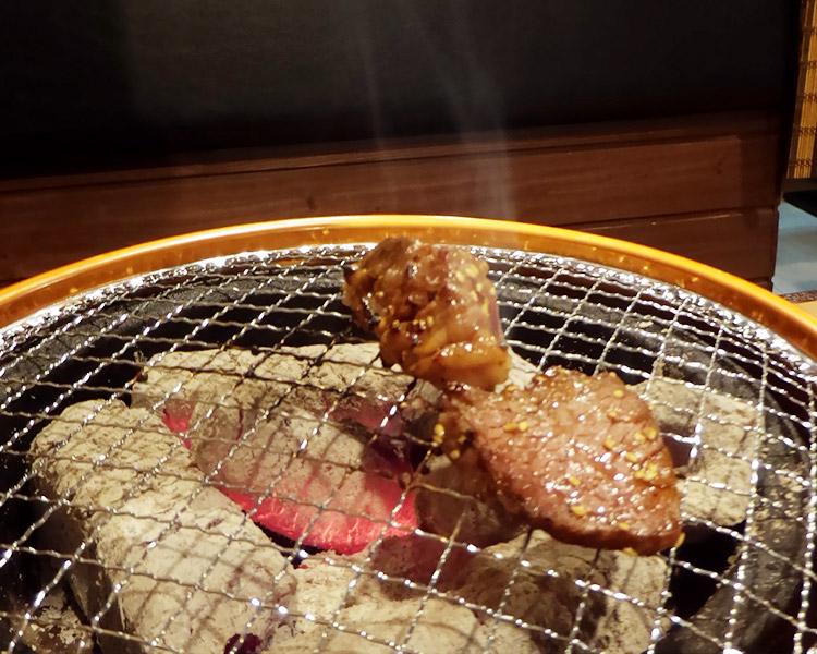 カルビ&ハラミ定食[大](1180円)