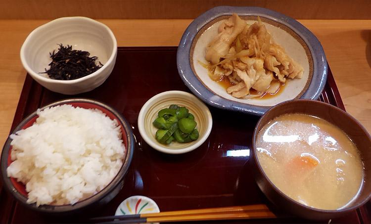 スタミナ生姜焼(850円)
