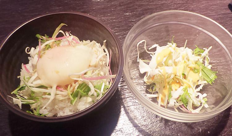 麻婆豆腐ラーメン&本日のミニ丼付(1,000円)