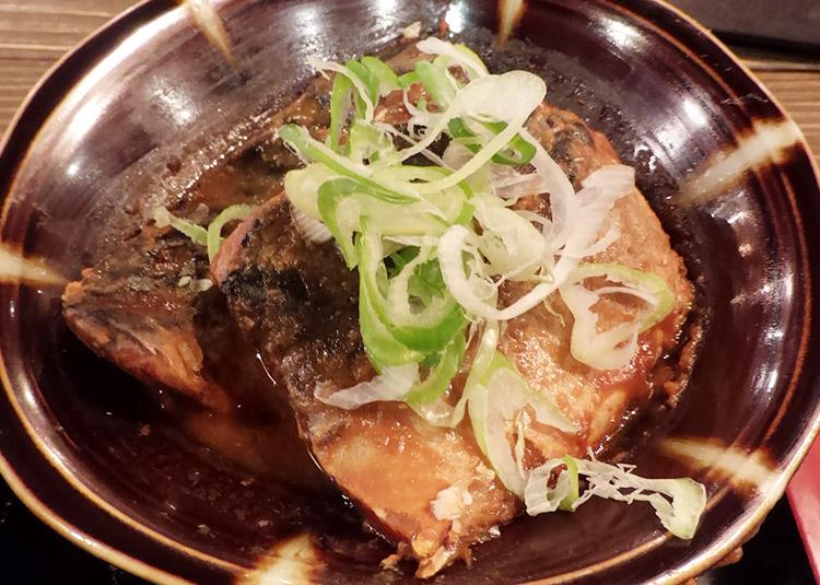 真鯖味噌煮