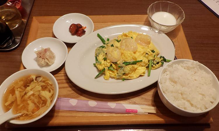 海老と玉子炒め(950円)